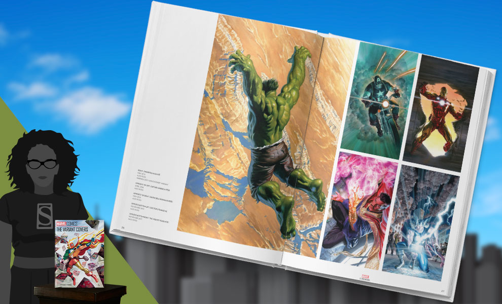 Gallery Feature Image of Marvel Comics: The Variant Covers Book - Click to open image gallery