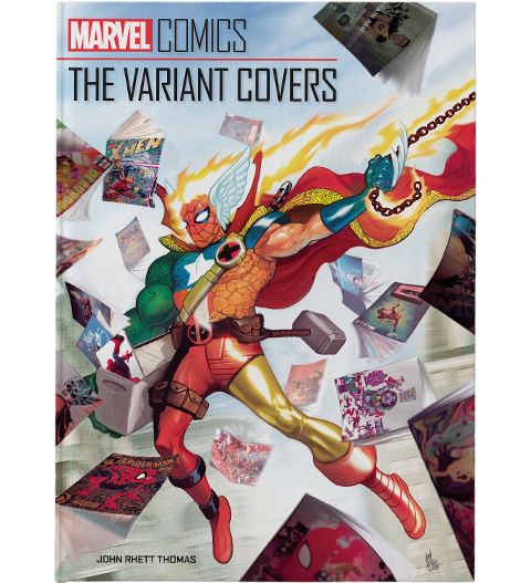 Insight Editions Marvel Comics: The Variant Covers Book