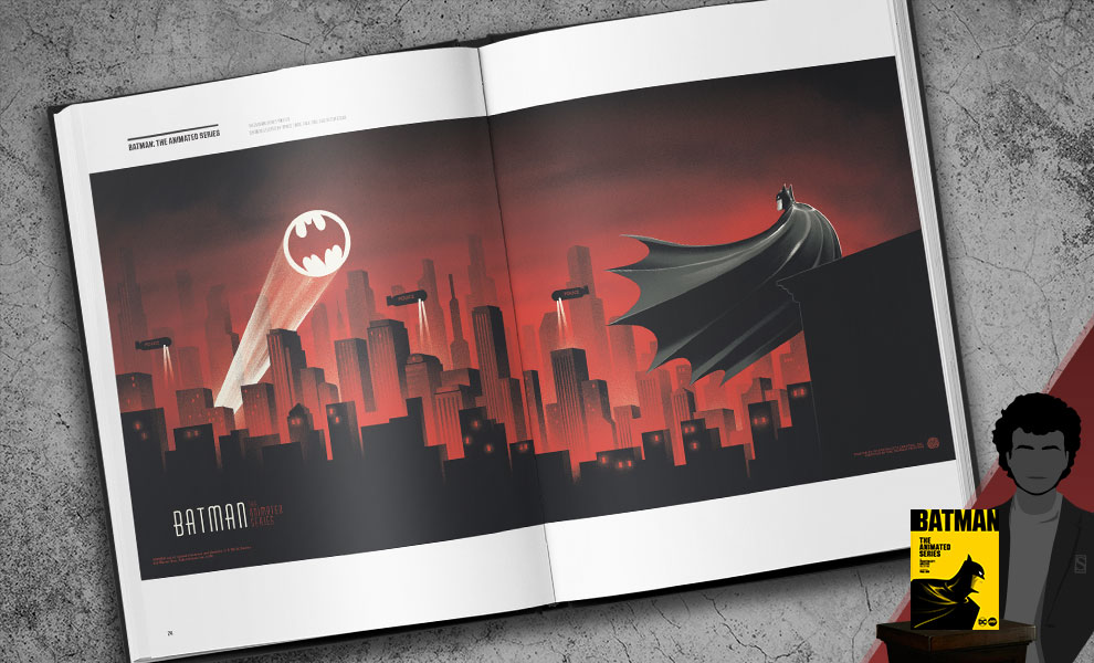 Gallery Feature Image of Batman: The Animated Series: The Phantom City Creative Book - Click to open image gallery