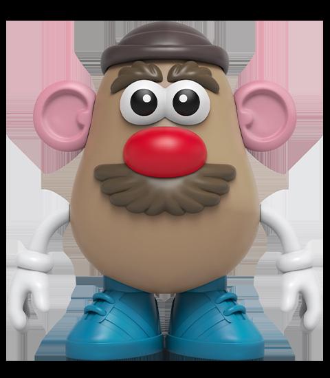Mighty Jaxx 4D XXRAY Mr. Potato Head Collectible Figure