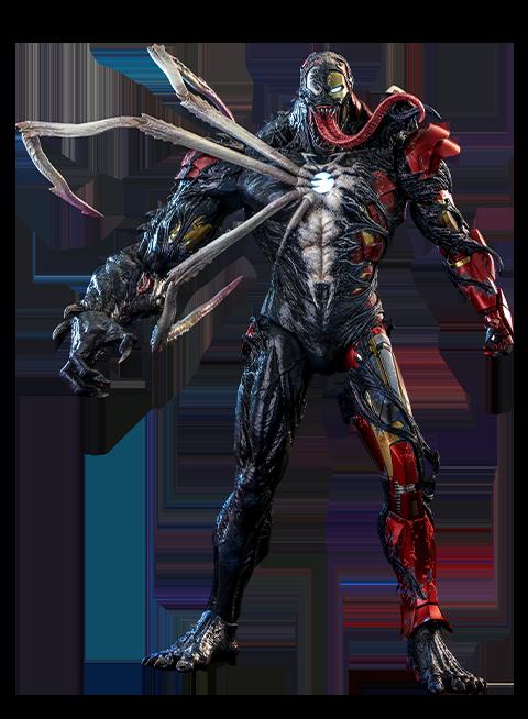 Hot Toys Venomized Iron Man Sixth Scale Figure