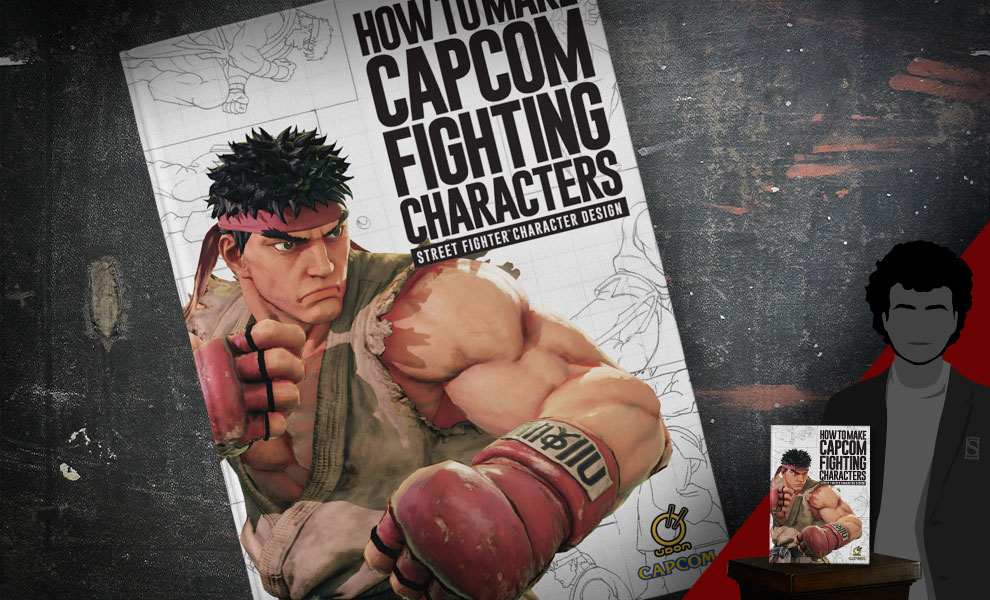 Gallery Feature Image of How to Make Capcom Fighting Characters: Street Fighter Character Design Book - Click to open image gallery