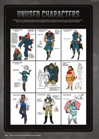 Gallery Image of How to Make Capcom Fighting Characters: Street Fighter Character Design Book