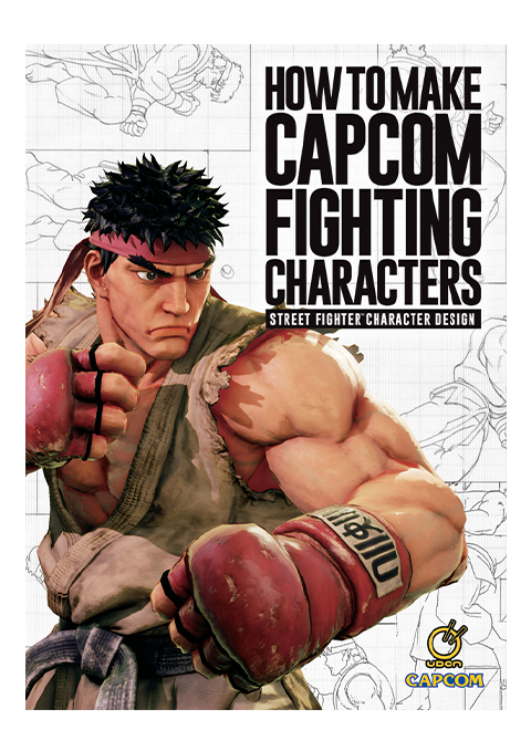 Udon Entertainment How to Make Capcom Fighting Characters: Street Fighter Character Design Book