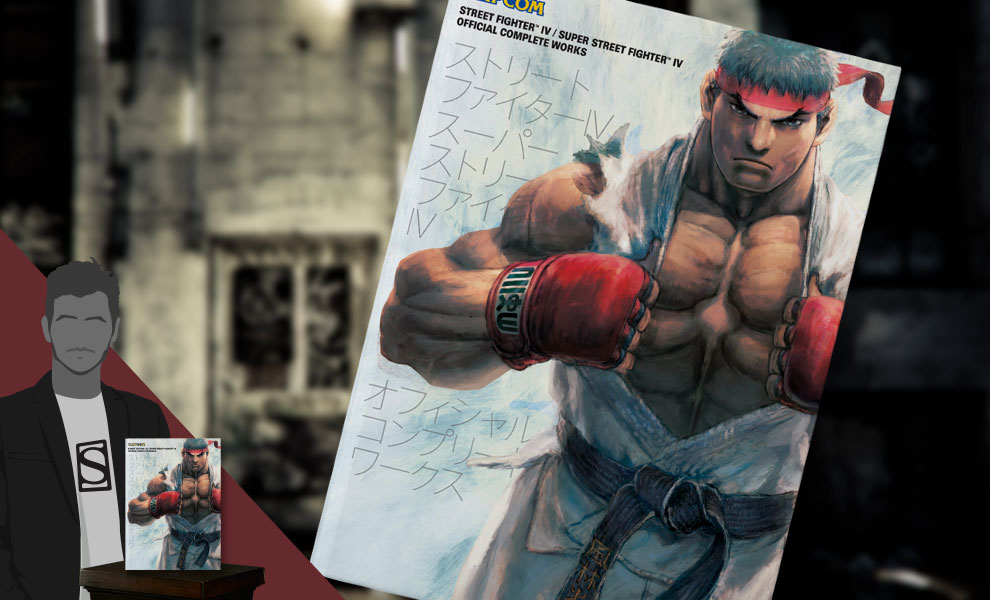 Gallery Feature Image of Street Fighter IV Official Complete Works Book - Click to open image gallery