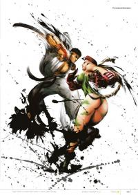 Gallery Image of Street Fighter IV Official Complete Works Book