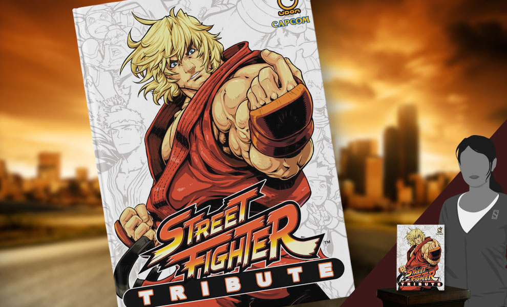 Gallery Feature Image of Street Fighter Tribute Book - Click to open image gallery