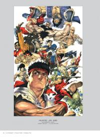 Gallery Image of Street Fighter Tribute Book