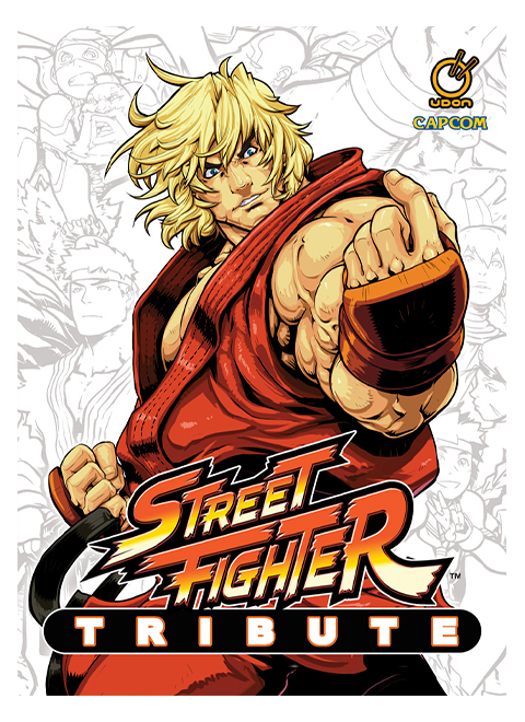 Udon Entertainment Street Fighter Tribute Book