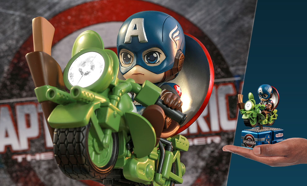 Gallery Feature Image of Captain America Collectible Figure - Click to open image gallery