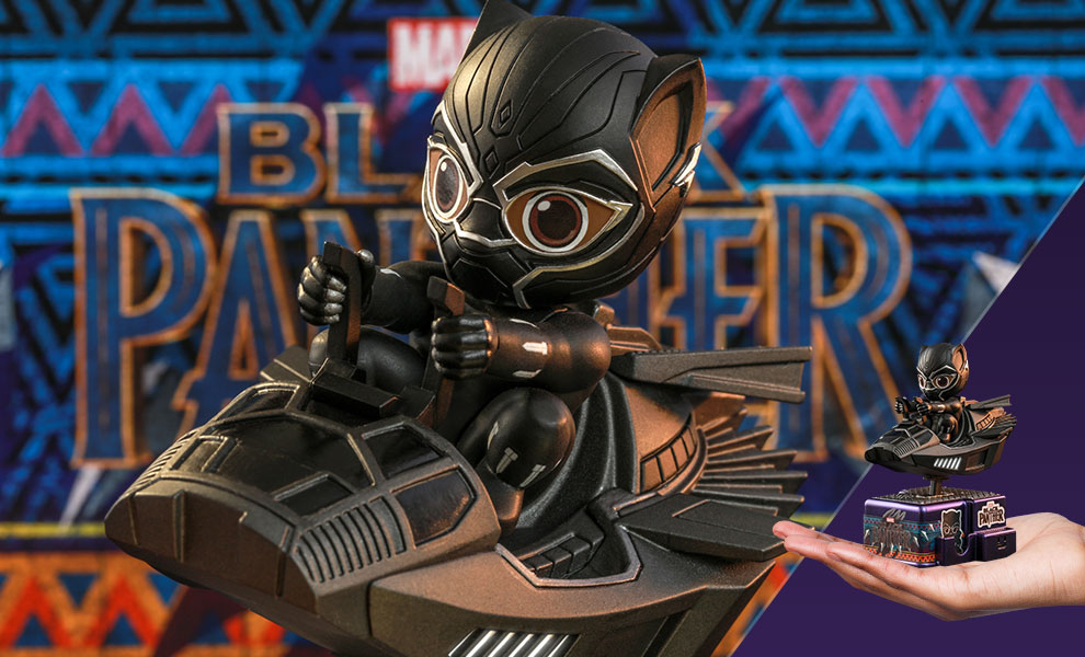 Gallery Feature Image of Black Panther Collectible Figure - Click to open image gallery