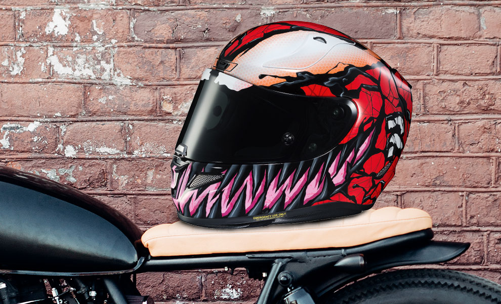 Gallery Feature Image of Carnage HJC RPHA 11 Pro Helmet - Click to open image gallery