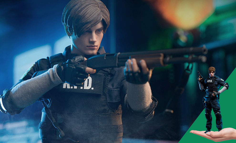 Gallery Feature Image of Leon S. Kennedy Sixth Scale Figure - Click to open image gallery