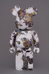 Gallery Image of Be@rbrick Jackson Pollock Studio (SPLASH) 100% & 400% Collectible Set