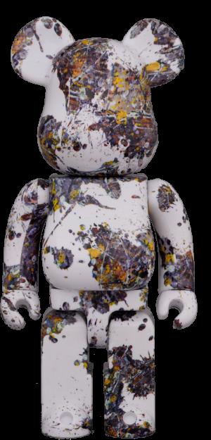 Be@rbrick Jackson Pollock Studio (Splash) 1000% Bearbrick