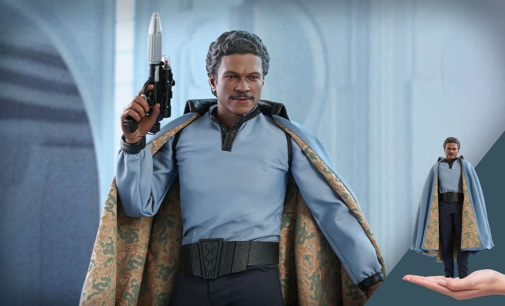 Gallery Feature Image of Lando Calrissian™ Sixth Scale Figure - Click to open image gallery