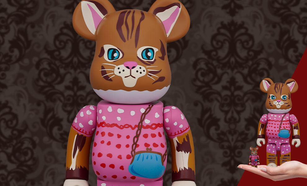 Gallery Feature Image of Be@rbrick Nathalie Lété Minette 100% & 400% Collectible Set - Click to open image gallery