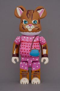 Gallery Image of Be@rbrick Nathalie Lété Minette 100% & 400% Collectible Set