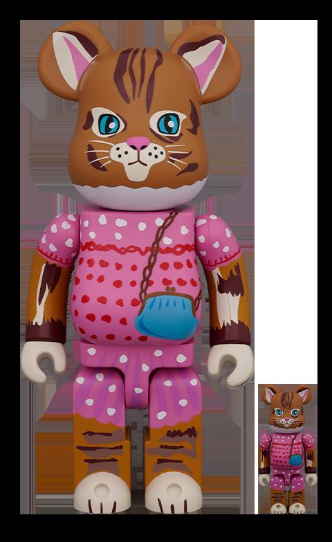 Medicom Toy Be@rbrick Nathalie Lété Minette 100% & 400% Collectible Set