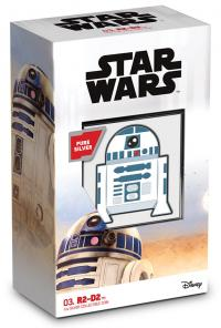 Gallery Image of R2-D2 1oz Silver Coin Silver Collectible