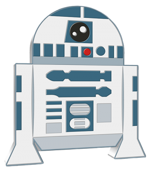 R2-D2 1oz Silver Coin Silver Collectible