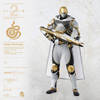 Gallery Image of Hunter Sovereign (Calus's Selected Shader) Sixth Scale Figure