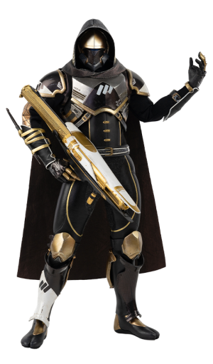Hunter Sovereign (Golden Trace Shader) Sixth Scale Figure