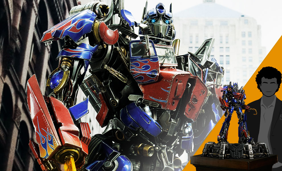 Gallery Feature Image of Optimus Prime Statue - Click to open image gallery