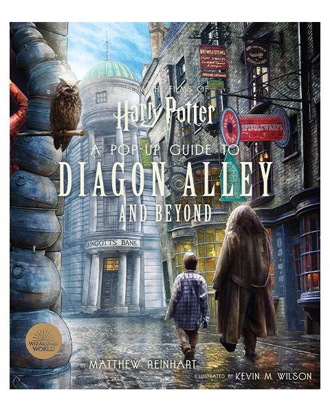 Insight Editions Harry Potter: A Pop-Up Guide to Diagon Alley and Beyond Book