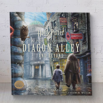 Harry Potter: A Pop-Up Guide to Diagon Alley and Beyond Book
