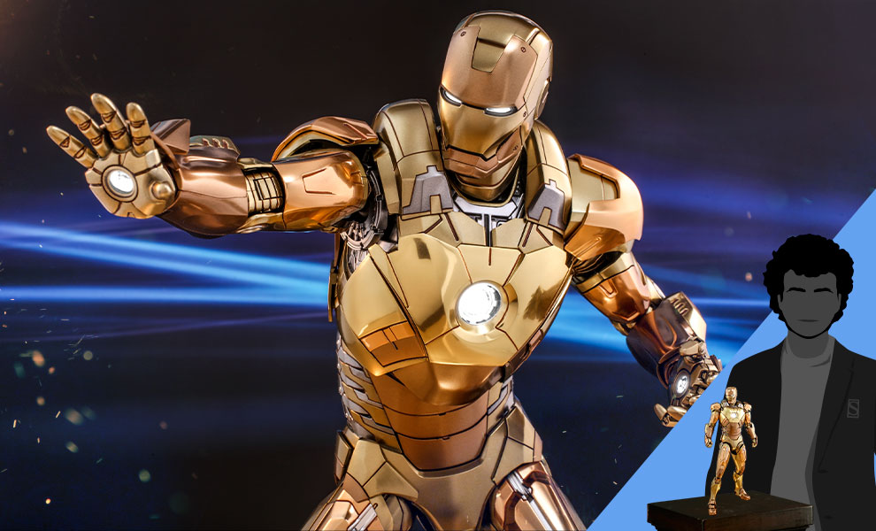 Gallery Feature Image of Iron Man Mark XXI (Midas) Sixth Scale Figure - Click to open image gallery