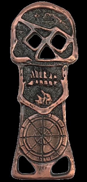 Copper Bones Skeleton Key Bottle Opener Miscellaneous Collectibles