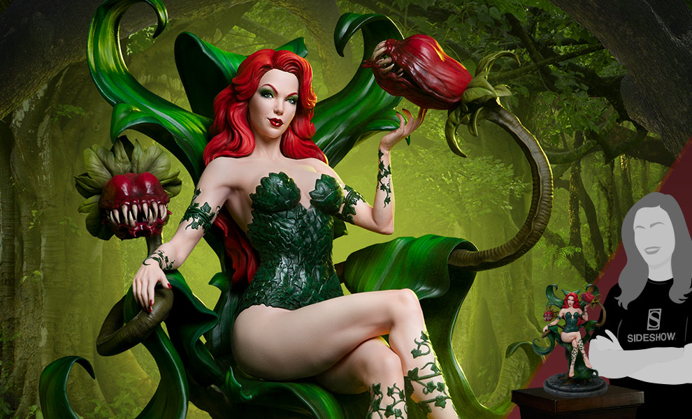 Gallery Feature Image of Poison Ivy Maquette - Click to open image gallery