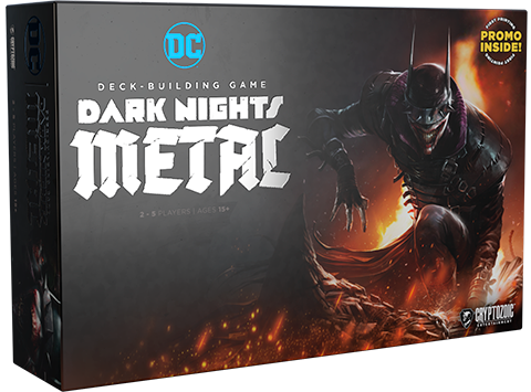 Cryptozoic Entertainment DC Deck Building Game: Dark Nights: Metal Playing Cards