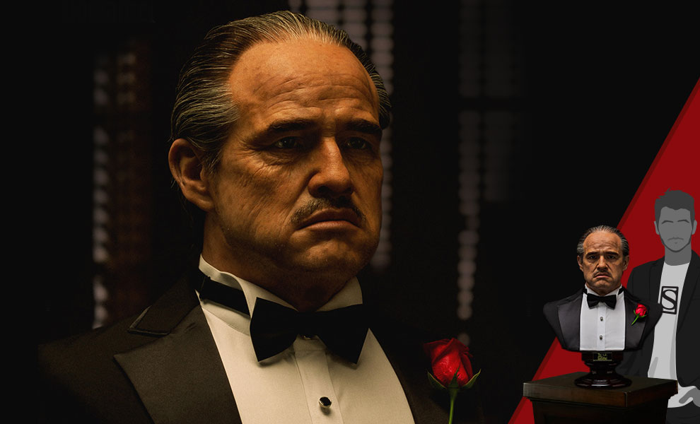 Gallery Feature Image of The Godfather (1972 Edition) Life-Size Bust - Click to open image gallery