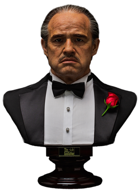 Damtoys The Godfather (1972 Edition) Life-Size Bust