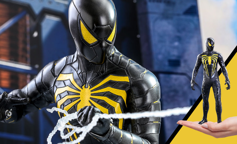 Gallery Feature Image of Spider-Man (Anti-Ock Suit) Sixth Scale Figure - Click to open image gallery