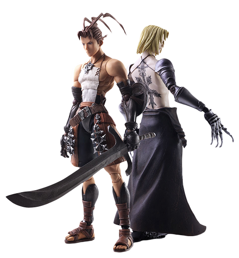 Square Enix Ashley Riot & Sydney Losstarot Collectible Set