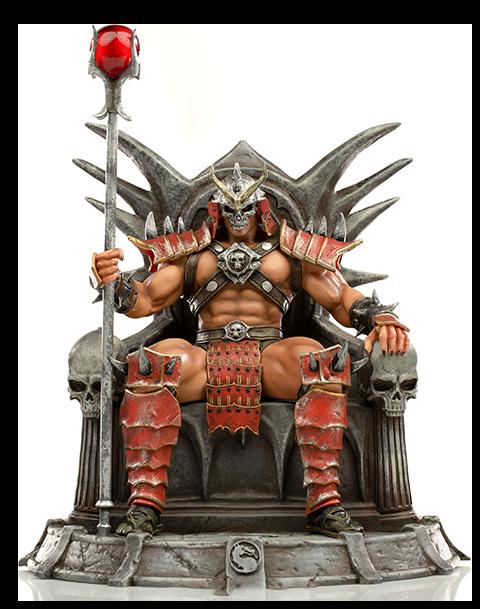 Iron Studios Shao Kahn Deluxe 1:10 Scale Statue