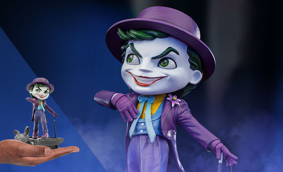 Gallery Feature Image of The Joker '89 Mini Co. Collectible Figure - Click to open image gallery