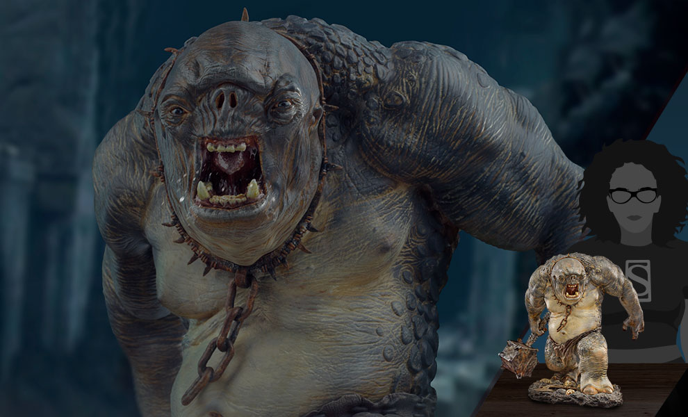 Gallery Feature Image of Cave Troll Deluxe 1:10 Scale Statue - Click to open image gallery