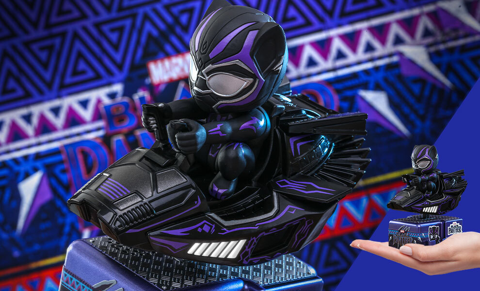 Gallery Feature Image of Black Panther (Special Color Version) Collectible Figure - Click to open image gallery