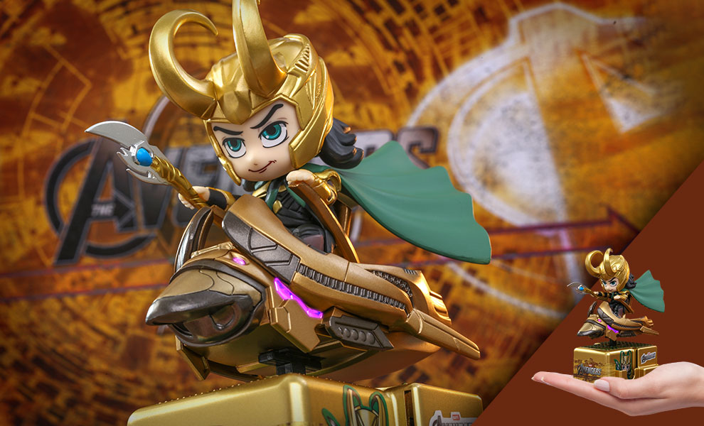 Gallery Feature Image of Loki (With Scepter Version) Collectible Figure - Click to open image gallery