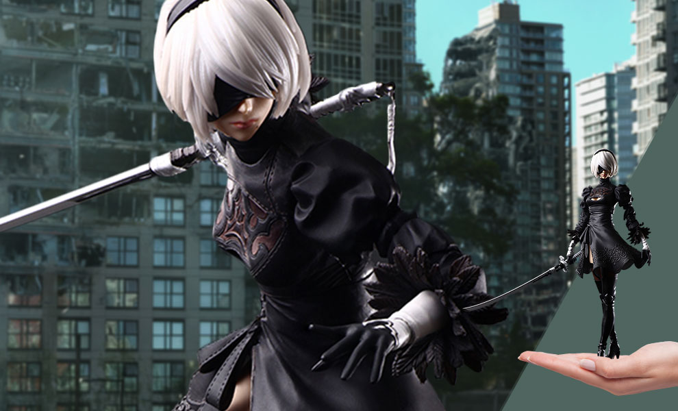 Gallery Feature Image of 2B (YoRHa No.2 Type B) Action Figure - Click to open image gallery
