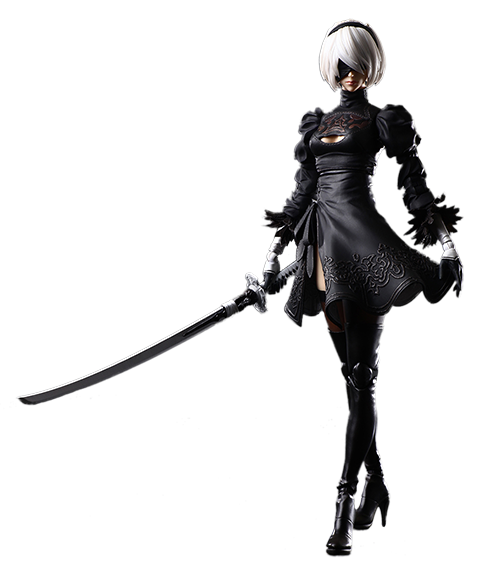 Square Enix 2B (YoRHa No.2 Type B) Action Figure