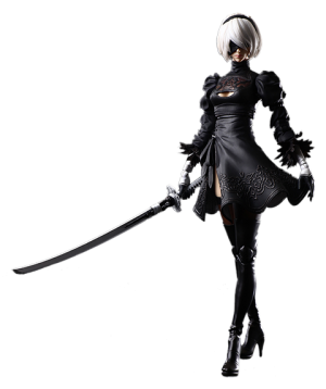 2B (YoRHa No.2 Type B) Action Figure