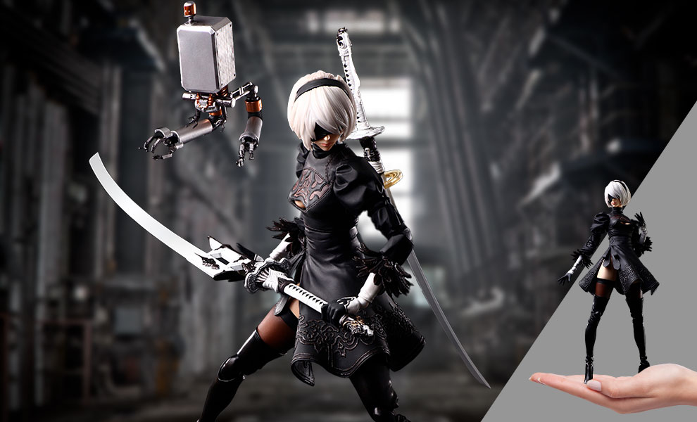 Gallery Feature Image of 2B (YoRHa No.2 Type B) Deluxe Action Figure - Click to open image gallery