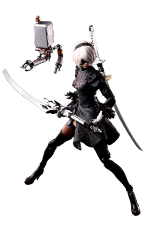 2B (YoRHa No.2 Type B) Deluxe Action Figure
