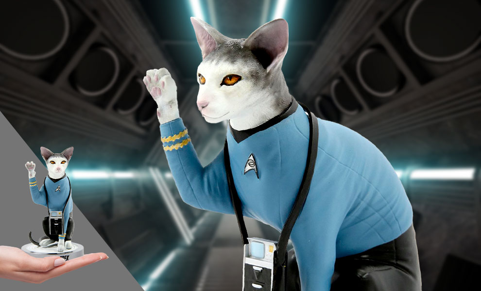 Gallery Feature Image of Spock Cat Statue - Click to open image gallery