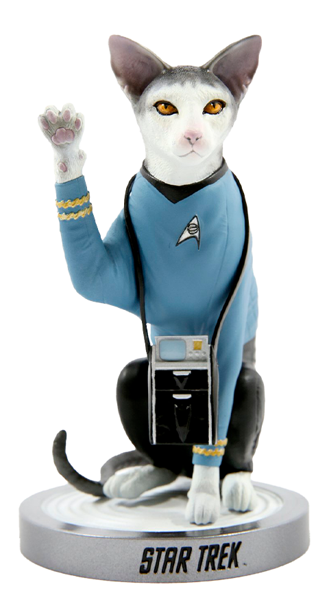 Chronicle Collectibles Spock Cat Statue